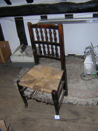 Spindle-back chair