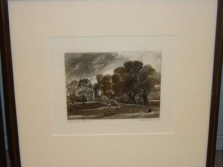 East Bergholt, Suffolk (after John Constable)