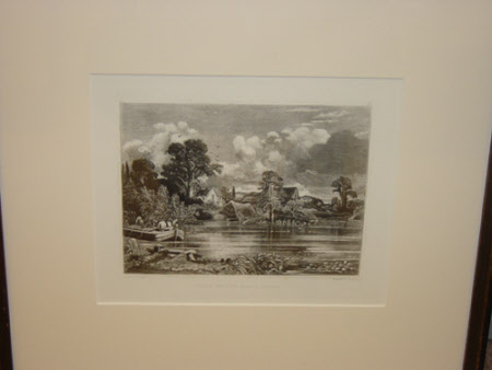 View of the River Stour (after John Constable)