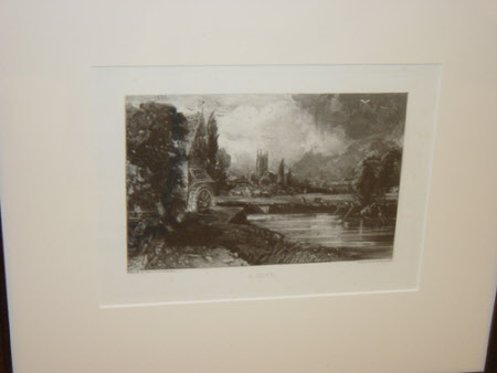 A Mill (after John Constable)
