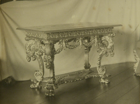 'Platinum table', Knole Kent