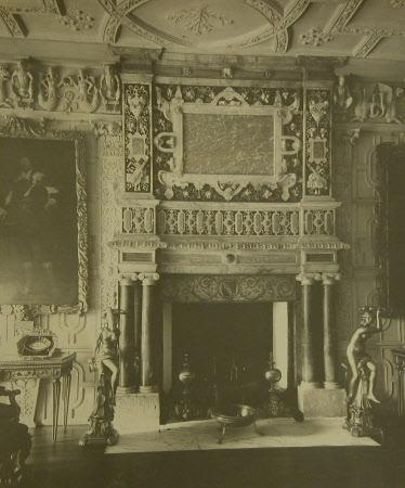 Mantelpiece, Ballroom, Knole, Kent