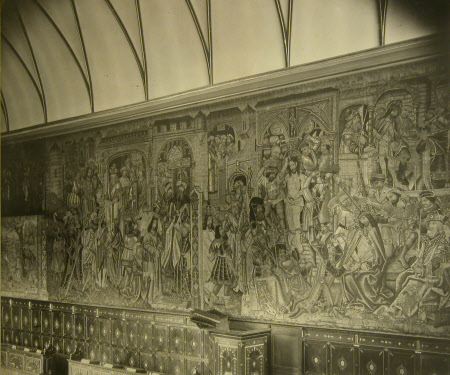 Tapestry in Chapel, Knole, Kent