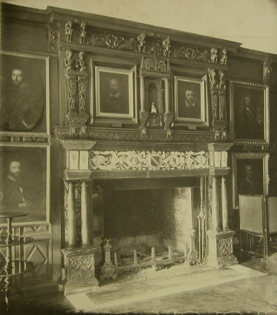 Mantelpiece, Dining Room, Knole, Kent