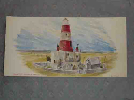 Lighthouse at Orford Ness, Suffolk: Summer 1945