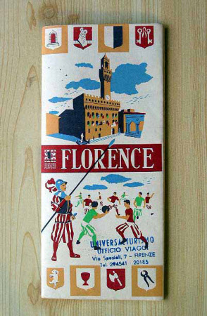 Guide Book to Florence, Italy