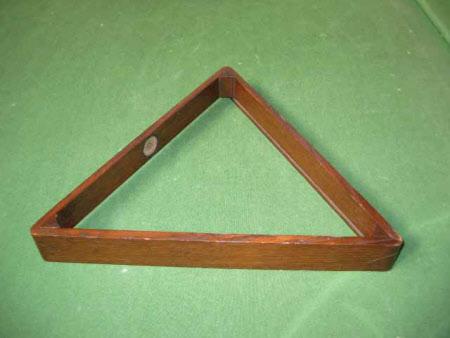 Billiard triangle
