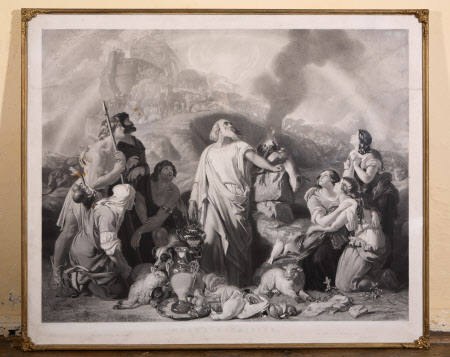 Noah's Sacrifice (after Daniel Maclise)