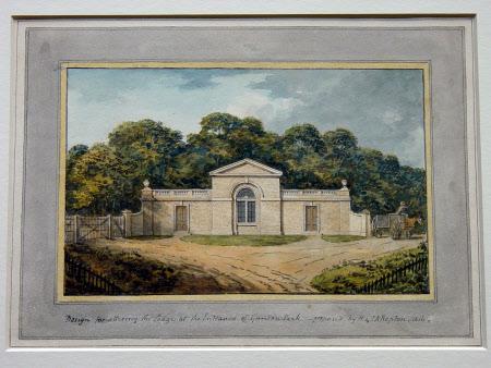 Elevation of a Lodge at Gunton Park 1816