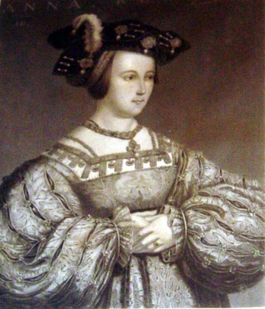 Queen Anne Boleyn (1507–1536) (after Hans Holbein the younger)
