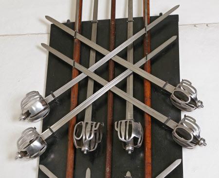 Basket-hilt sword