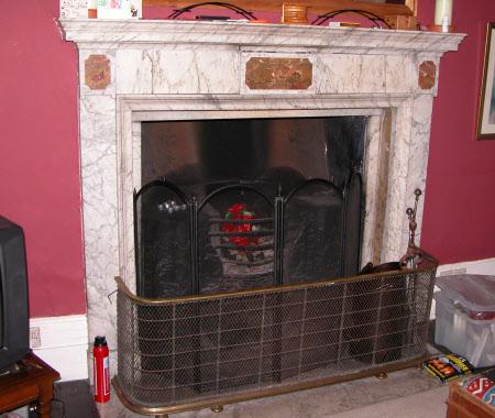 Chimneypiece, Flat B, Blickling Hall