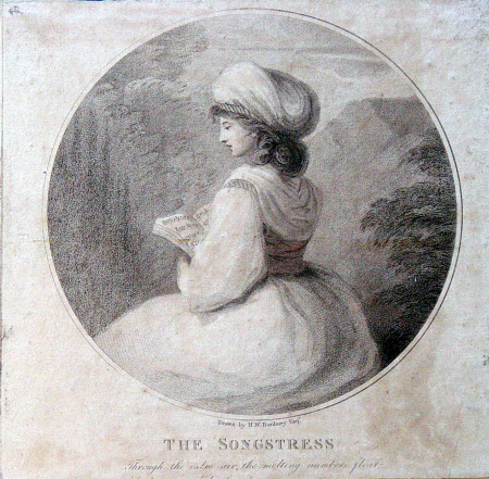 The Songstress (after Henry William Bunbury)