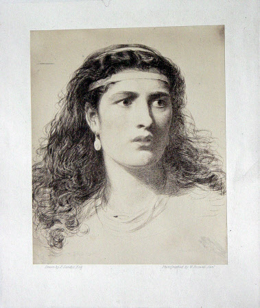Unknown lady (after Anthony 'Frederick' Augustus Sandys)