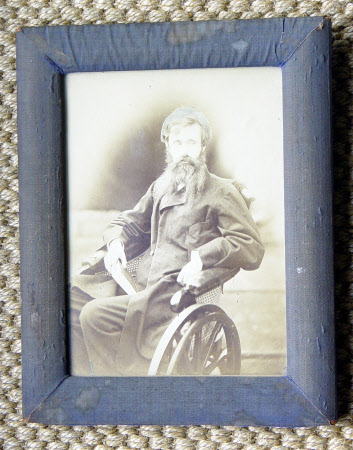 William Schomberg Robert Kerr, 8th Marquess of Lothian (1832-1870) in a wheelchair