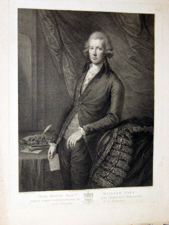 William Pitt the younger MP (1759-1806) (after Gainsborough Dupont)