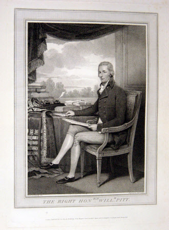 William Pitt the younger MP (1759-1806) (after Henry Edridge)