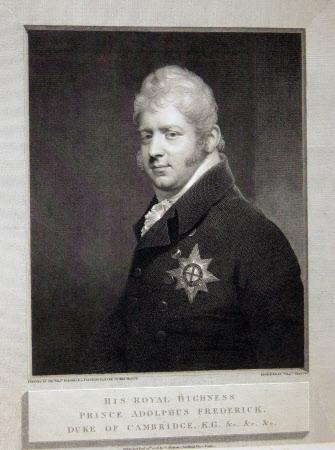 Prince Adolphus Frederick, Duke of Cambridge, KG (1774 – 1850) (after Sir William Beechey)
