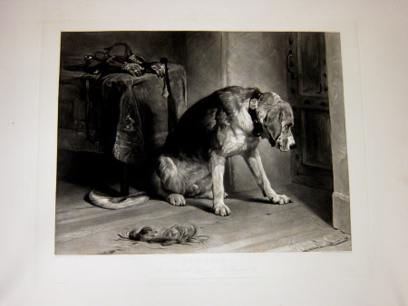 Suspense (after Sir Edwin Henry Landseer)
