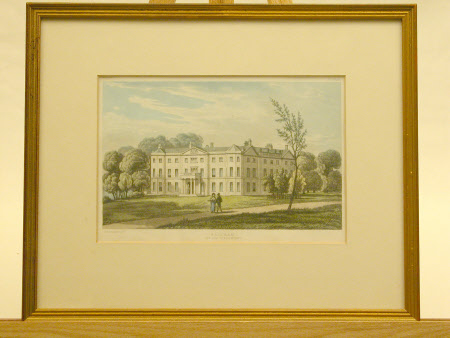 Saltram House, Devon: 1825