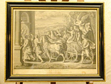 Le Triomphe De Tites Et De Vespasien (after Giulio Romano)