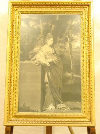 The Hon.Theresa Robinson, Mrs John Parker (1745-1775) (after Sir Joshua Reynolds)