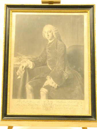 The Rt. Hon. William Pitt the younger MP (1759-1806) (after William Hoare of Bath)