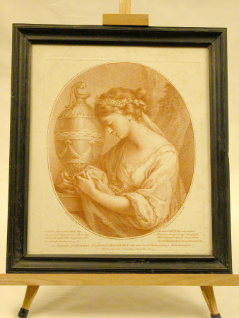 A Sorrowing Maiden with a Classical Urn (after Angelica Kauffman)