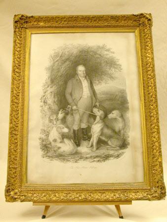 The Hon. Norton Fellows with hounds