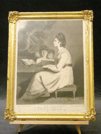 Elizabeth Anne ('Eliza') Linley, Mrs Richard Brinsley Sheridan (1754 – 1792) as St Cecilia (after ...