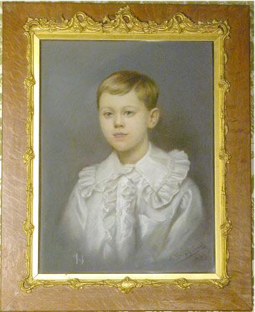 The Hon. Cecil Edward Agar-Robartes (1892-1939) as young Boy