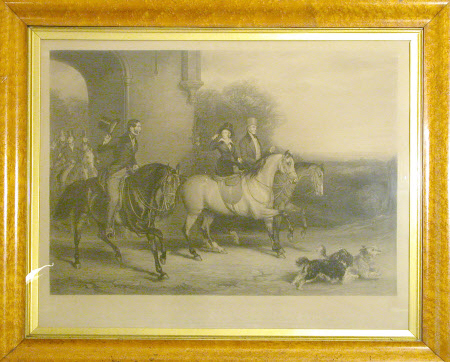Queen Victoria (1819-1901) Riding Out, 1843 (after Sir Francis Grant)
