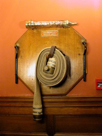 Fire equipment board