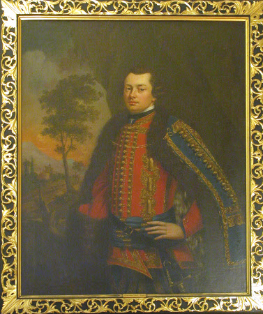 George Hunt, MP (1720? - 1798) in Hussar Uniform