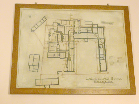 LANHYDROCK HOUSE BASEMENT PLAN