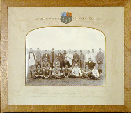 M.D. Hill Esq. House XI v. Hon C.E. Agar Robartes XI 1911
