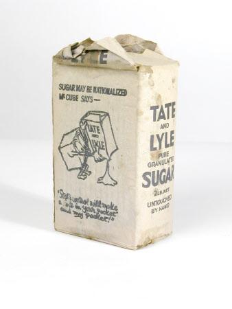 Granulated sugar packet