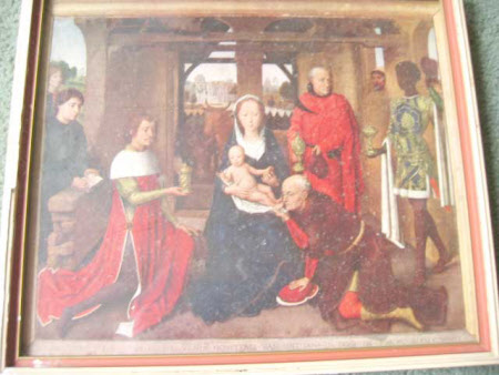 The Adoration of the Magi - The Triptych of Jan Floreins (1443-1504/5) (after Hans Memling)
