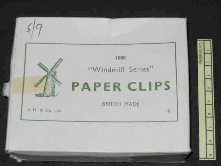 Paper clip box