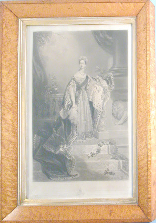 Queen Victoria (1819-1901) in coronation robes (after Alfred Edward Chalon)