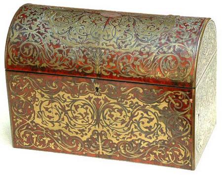 Envelope casket