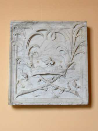 Relief plaque