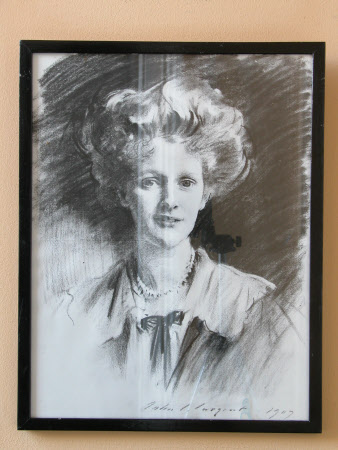 Nancy Witcher Langhorne, Viscountess Astor CH, MP (1879-1964) by John Singer Sargent