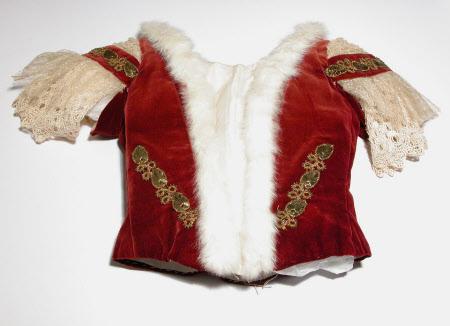 Ceremonial dress bodice