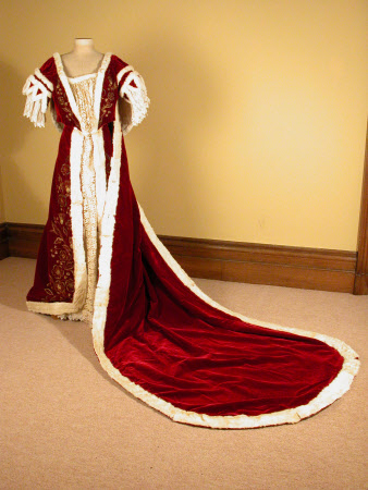 Ceremonial dress overskirt