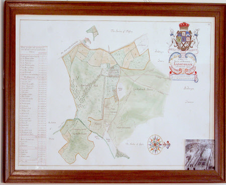 Estate Map: The Seate and Demeanes of Lanhydrock, Cornwall