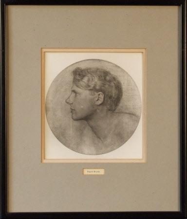 Rupert Brooke (1887-1915) (after Sherrill Schell)
