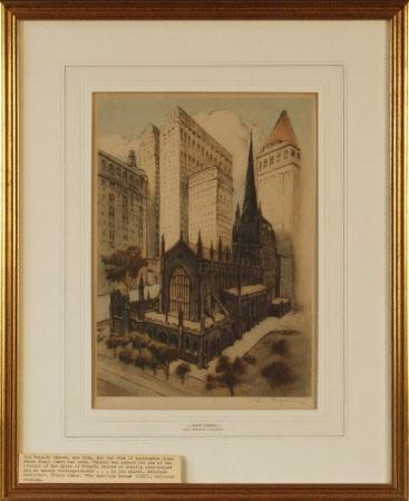 Old Trinity Church, New York