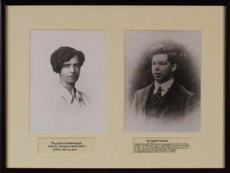 Theodora Bosanquet, MBE (1881-1961) and Burgess Noakes (1885-1975), respectively Secretary and ...