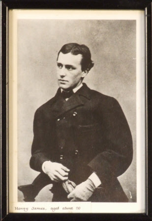 Henry James (1843-1916) aged about 20
